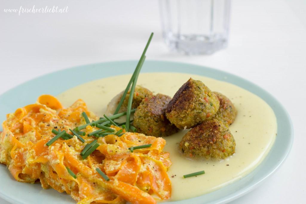 Kartoffelbrei_Falafel_Möhren_Sauce_Kartoffelbrei_Frisch_Verliebt_1